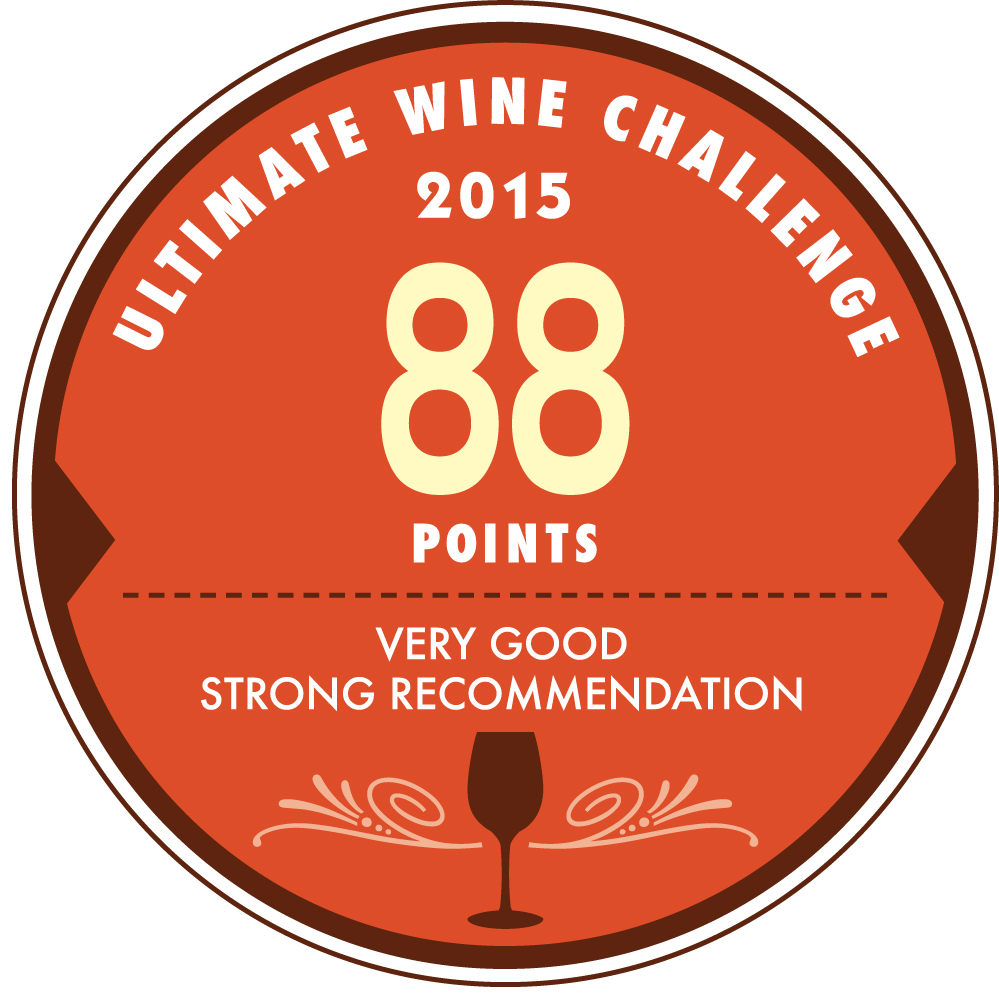 3ELEMENTOS GETS 88 POINTS AT WINE ULTIMATE CHALLENGE 2015